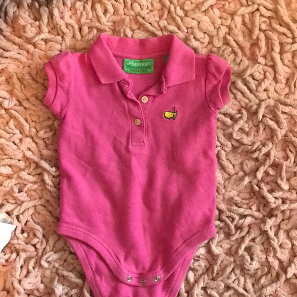 93be5a47f9295 Baby Girl Masters Golf onesie
